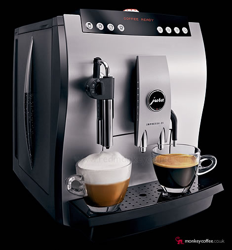 Jura Impressa Z5 Uk Automatic Espresso Bean To Cup Coffee